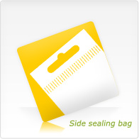 Side sealing bag