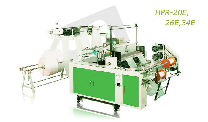 High Speed perforated bag on roll making machine (HPR-20E, 26E, 34E)